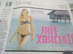 Unfortunate choice of font . . .