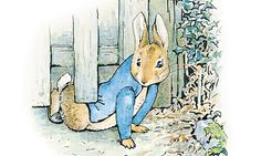 Uniting children across the world: the gorgeously cute Peter Rabbit. Illustration from The Tale of Peter Rabbit by Beatrix Potter.