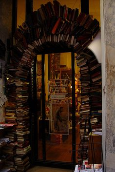 A book store in Lyon