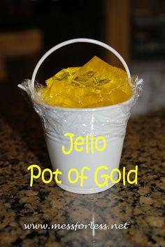 Jello pot of gold!