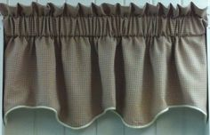 "Landis Duchess Filler Valance. 50""w x 15""l. Available in 4 colors.Taupe (as shown), Rust, Grey & Green @ $19.99.To Order Call toll-free 877-722-1100"