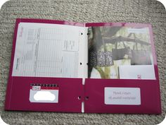 Thirty-One Customer Folder