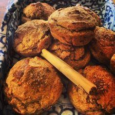 protein pumpkin cinnamon muffins - paleo, gluten free