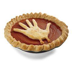 Handprint Pumpkin Pie