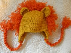 Lion Cub Baby Crochet hat