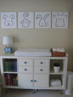 Project Nursery - Spot on Square Wall Art