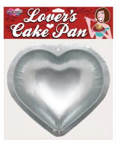"""Lover's 9"" Cake Pan - Heart Shaped""  $14.95  ""Turn your favorite cake into a romatic treat with this 9"" Lovers Cake Pan."""