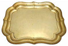 Gold Florentine Tray on OneKingsLane.com