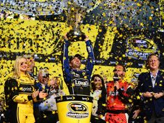 Jimmie Johnson cemented his status as one of NASCAR's greatest drivers with his sixth Sprint Cup championship at the season finale 11/17/2013