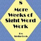 work packet, word work, daili work, sight word
