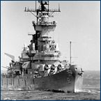 Joined the US Navy 1952. Discharged 1955. Served aboard the USS New Jersey BB62 during the Korean War.