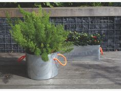 HOLT METALLICS Metal Galvanised metal window box planter - HabitatUK