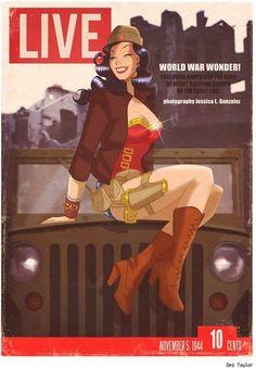WWII Wonder Woman
