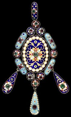 Pendant by Paul Ydot, 1870