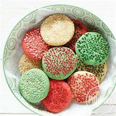 Sugared #Holiday #Snickerdoodles from Pillsbury® Baking