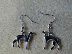 Greyhound Earrings by CinsWhims on Etsy, $10.00