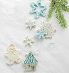 DIY project: Salt dough ornaments http://www.styleathome.com/how-to/simple-projects/diy-project-salt-dough-ornaments