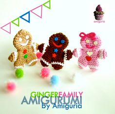 Ginger Family Amigurumi