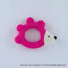 Ravelry: Hedgehog Rattle pattern by Carolina Guzman.