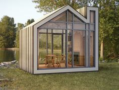 Two Design Firms Collaborate To Bring Us The Bunkie Pre-fab Home.