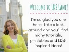 LDS Lane: Lots of fun printables and Crafty lds inspired things to do make and create