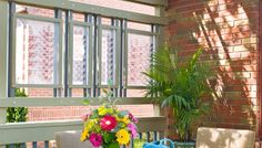 Use decorative screens to block out views of neighboring yards yet keep intact an open, airy feel.