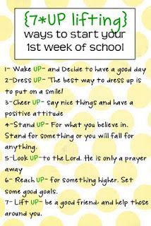 First week of school-- this should be a every day reminder