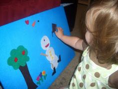 Educational activities for a one year old.