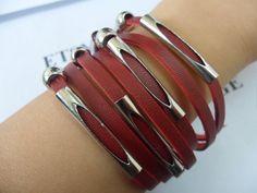 Adjustable Surf Hemp Leather Bracelet Wristband by sevenvsxiao, $9.00