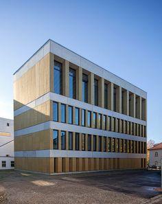 University library in Munich by Meck Architekten.