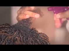 How To - Finger Coils on Natural Hair