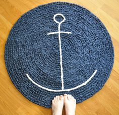 Ship themed bathroom rug?