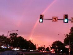 Double Rainbows.