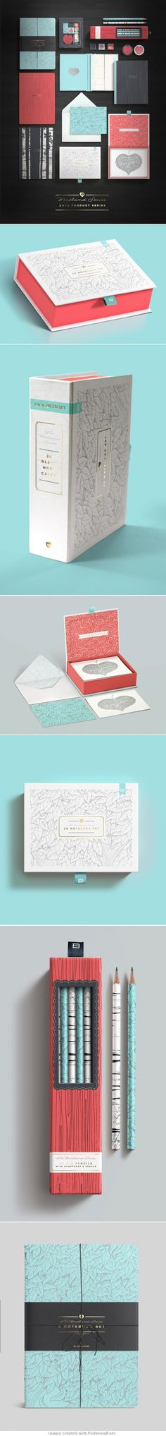 Bookjigs Woodland Product Line Packaging