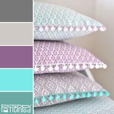 Prim Pillow #patternpod #patternpodcolor #color #colorpalettes