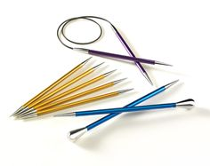 "Circular Knitting Needles stiletto | Why don't they…?"" The Birth of the Stiletto point needle ..."