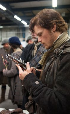 3. Sam Heughan Is the Hottest Nerd Ever. from 16 Fascinating Facts About Outlander | E! Online