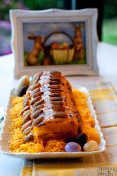 7gramas de ternura: Torta de Amêndoa e Doce de Ovos - Receitas Doces da Páscoa