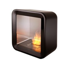 Retro Fireplace Black now featured on Fab.