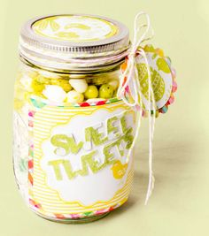 Sweet Treats Mason Jar