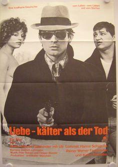Liebe - kälter als der Tod (1969) // Rainer Werner Fassbinder