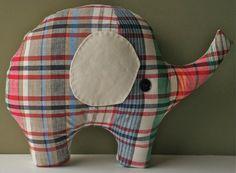 Sewn Elephant pattern. I love me some elephants.