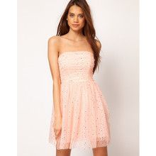 Party Dress in Sequin Mesh