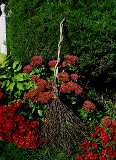How to make a witches' broom
