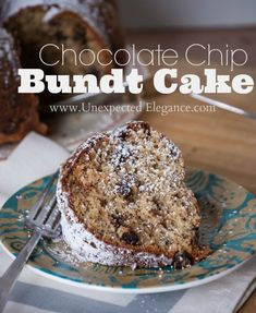 YUMMY Chocolate Chip Bundt Cake Recipe!