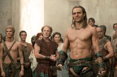 Dustin Clare in Spartacus: Gods of the Arena (2011)