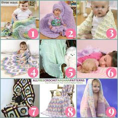 9 Printable Baby Blanket Patterns - FREE