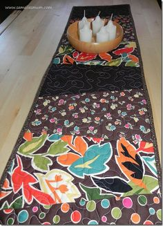 Table Runner you can make in 2 hours