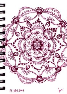 Mandala in Wine by S...