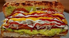 Who wants to try our #Guatemalan #Hotdog? with #Guacamole #Coleslaw, ketchup, mustard, mayo yummy!!!! Courtesy of FB Guatemala